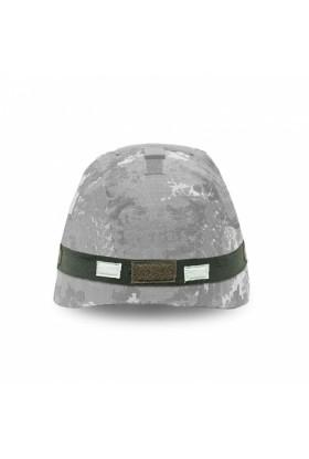 Bande élastique casque + 2 inserts infra rouge et velcro