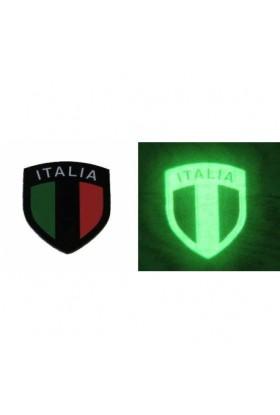 Ecusson Drapeau Italien infra rouge DEFCON 5