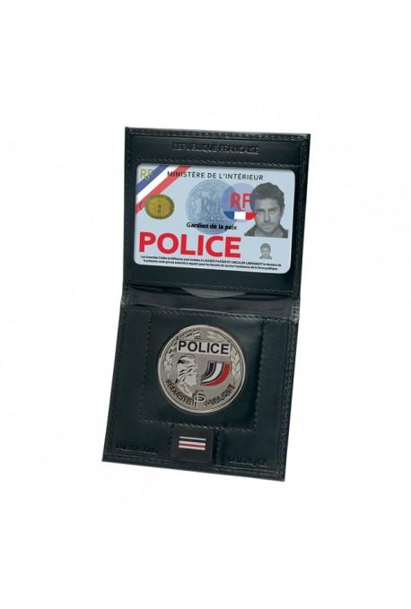Porte-Carte Vertical 2 volets + emplacement Grade&Médaille GK