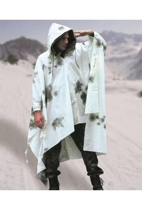 Poncho BW camou neige