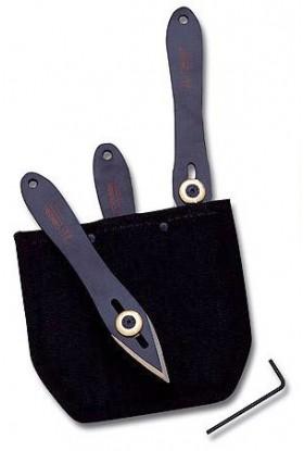 Set Couteaux à lancer CUDEMAN INOX 15 cm