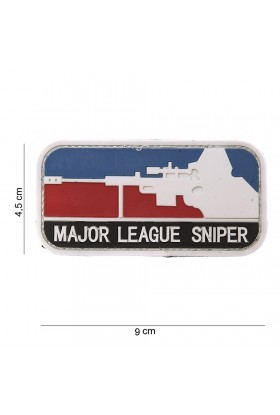 PATCH 3D PVC MAJOR SNIPER COLOR