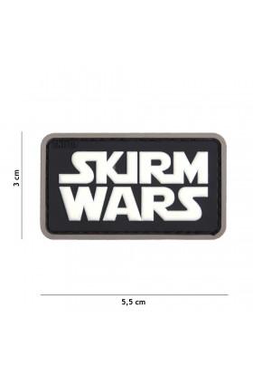 PATCH 3D SKIRM WARS NOIR