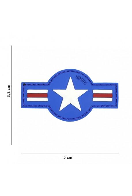PATCH 3D U.S. AIR FORCE BLEU