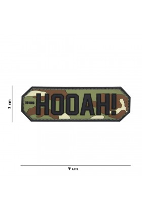 PATCH 3D HOOAH! WOODLAND