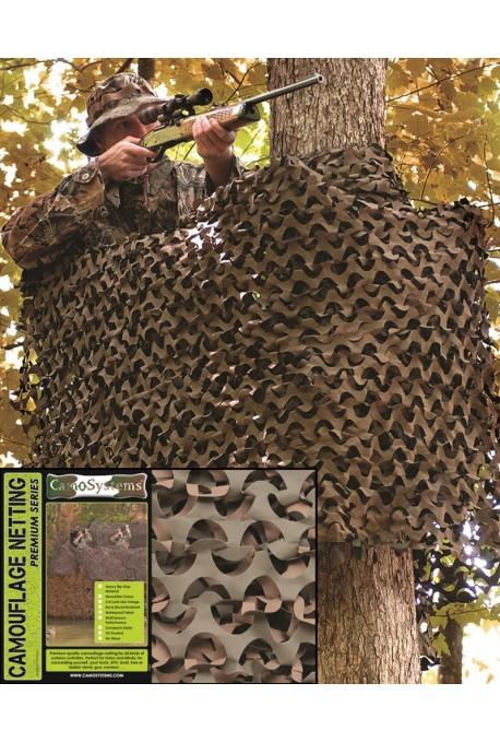 Filet de camouflage 2,4x6m réversible