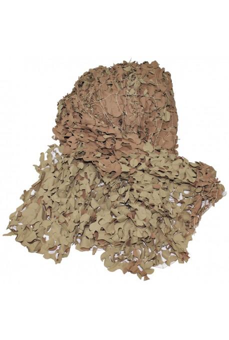 Filet camouflage beige 7.5m/7.5m