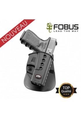 Holster rigide polymère pour Glock - Rétention passive avec vis d'ajustage