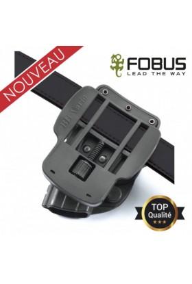 Attache ceinture rotative polymère réglage variable