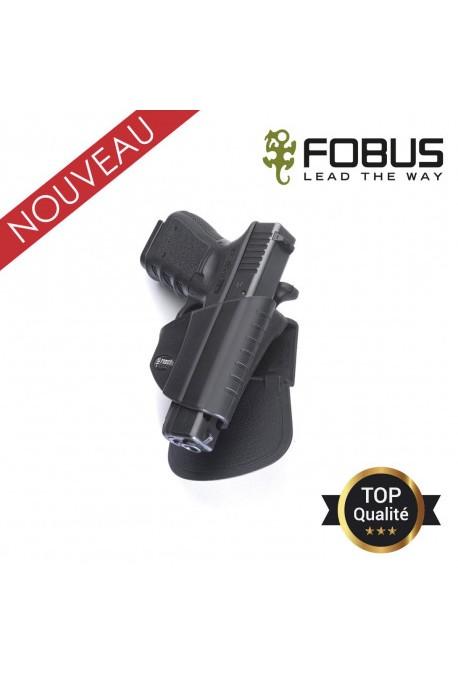Holster rigide polymère pour Glock rétention active pression pouce