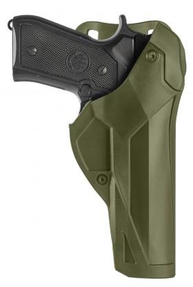 Holster droitier Cama Duty DCA8 vert OD pour BERETTA 92/98 FS -PAMAS / MAS-G1