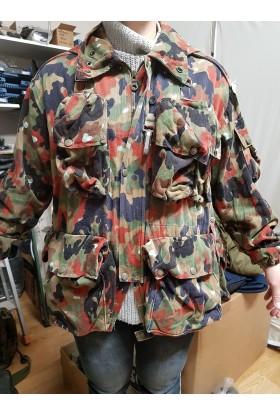 Parka camouflée armée Suisse