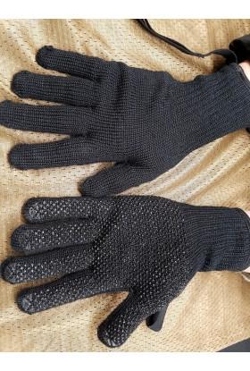 Gants picots noir