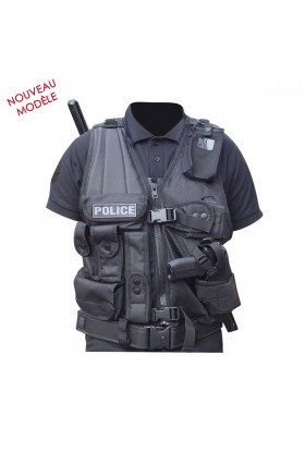 Gilet FORCE d'intervention avec Holster