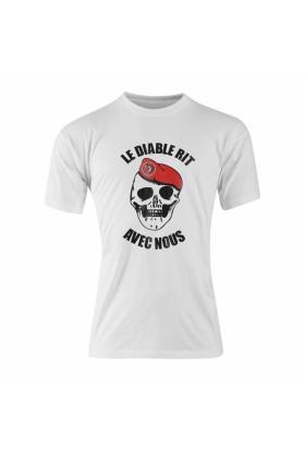 Tee shirt coton diable rit metro