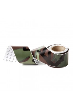 Rouleau adhésif camouflage