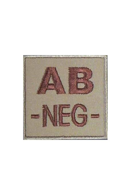 Ecusson groupe sanguin AB -
