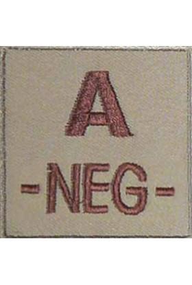 Ecusson groupe sanguin A -