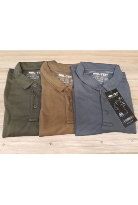 polo tactique manches courtes quickdry