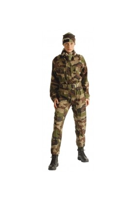 Combinaison de Combat 2 Zip Camouflage