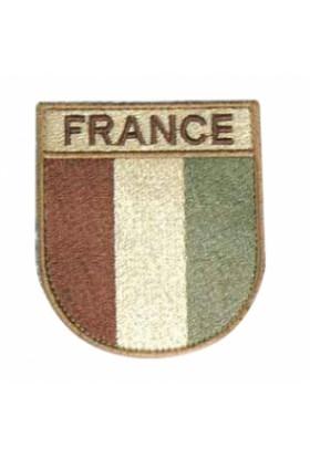Ecusson de Bras France Désert