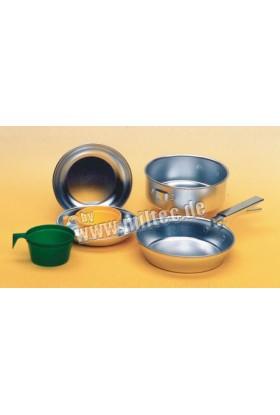 Set gamelles alu anodisé de cuisine et accessoires 2 pers.