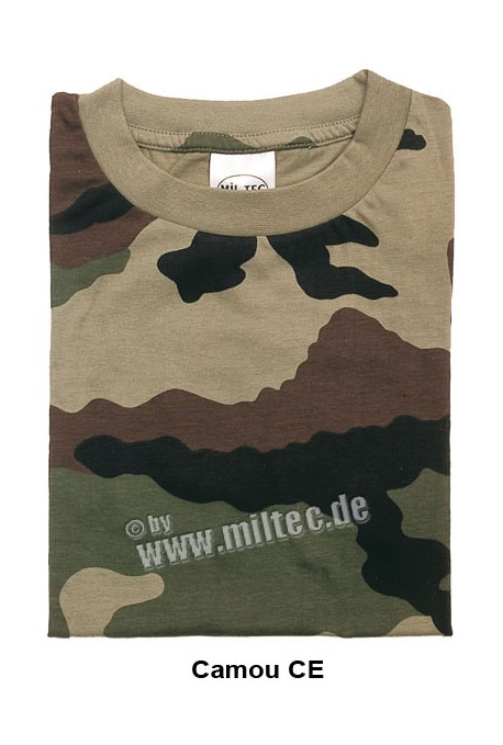 t shirt camouflage