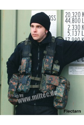 Gilet tactical 12 poches type sud africain