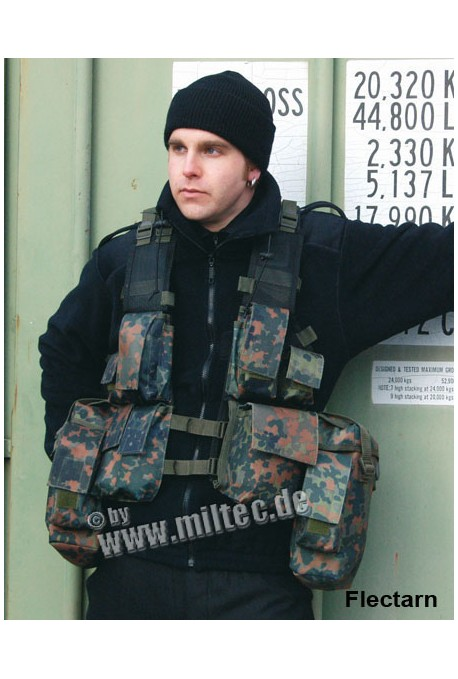 Gilet tactical mutlipoches