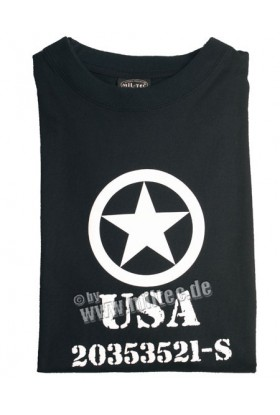 T shirt USA Allied Star