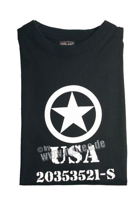 T shirt USA Allied Star