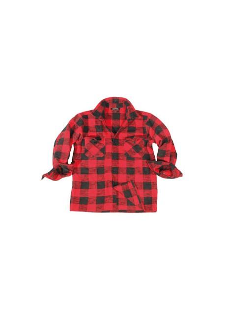Chemise canadienne écossaise