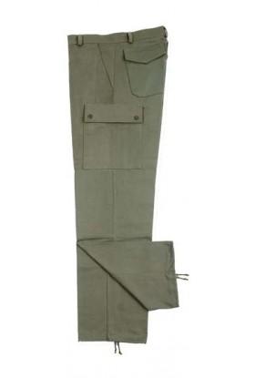 Pantalon M64 satin coton kaki