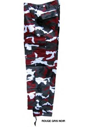 Pantalon M65 US type BDU camouflé