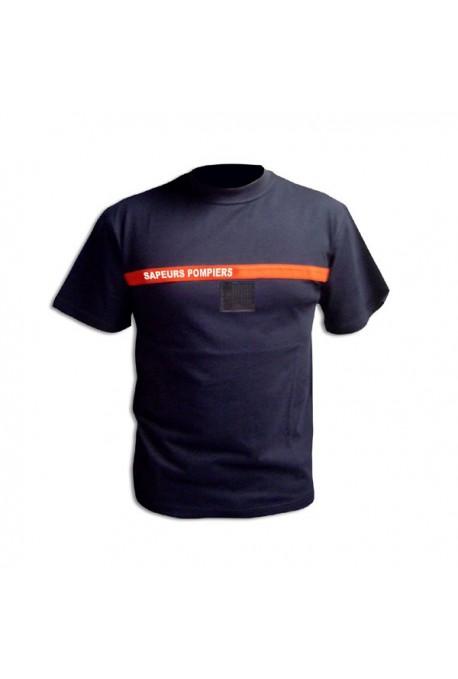 T shirt sapeurs pompiers usagé
