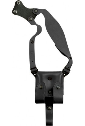Porte chargeur double pour holster d'épaule