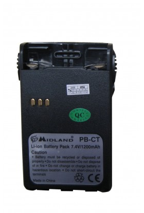 Batterie 1600MAH pour radio G14 Midland