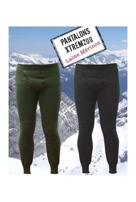 Pantalon XTREM200 en laine mérinos