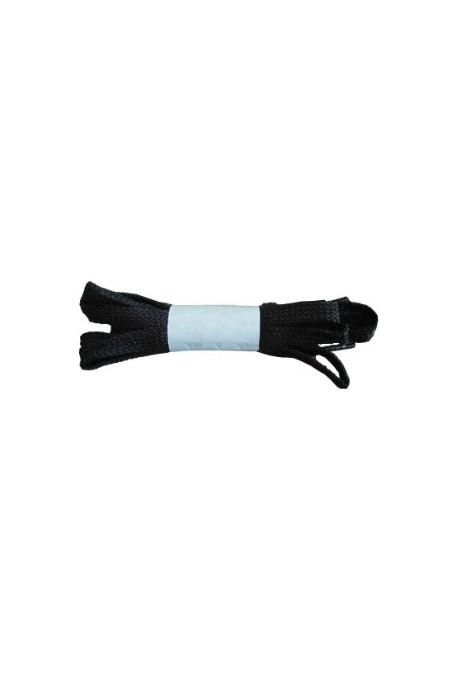 Lacets noirs plats 115 cm