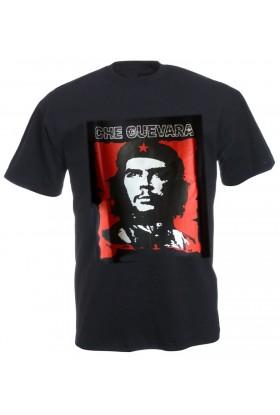 T shirt Ché fond noir ou kaki
