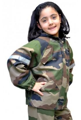 Veste à capuche enfant