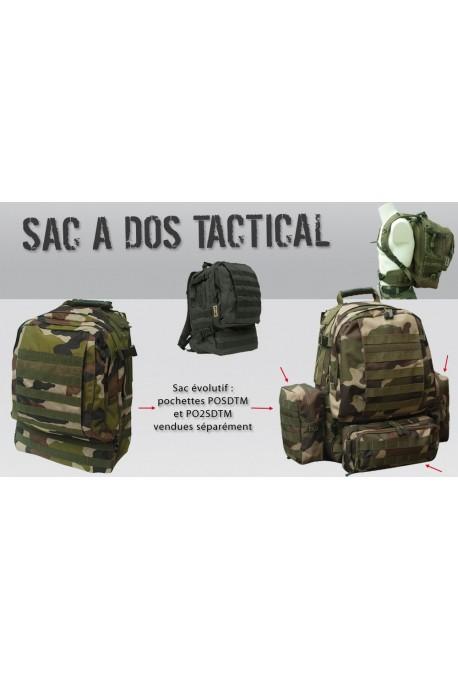 Sac à dos tactical Molle militaire