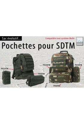 Pochette SDTM Molle