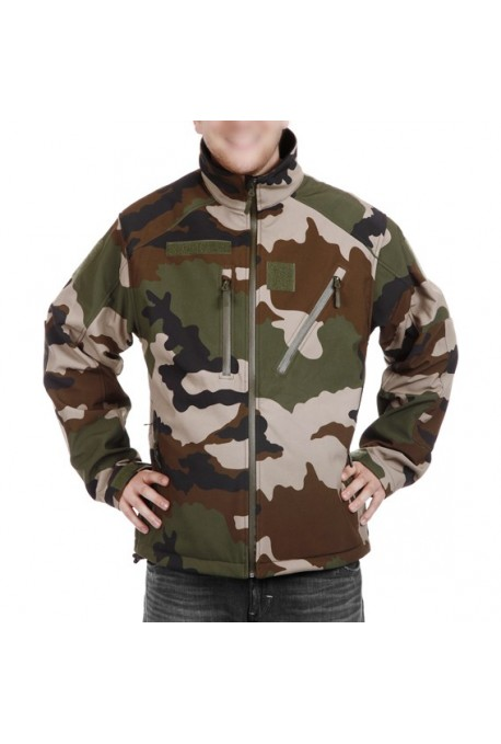 blouson ares camouflage centre europe softshell. Black Bedroom Furniture Sets. Home Design Ideas