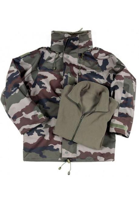 Us Army Surplus >> Parka militaire gore tex cam ce blouson polaire