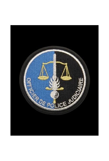 Écusson brodé POLICE JUDICIAIRE