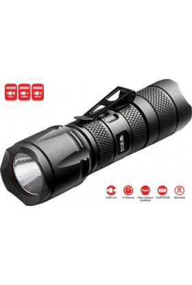 Lampe d'intervention TACTICAL LIGHT 200 Lumens