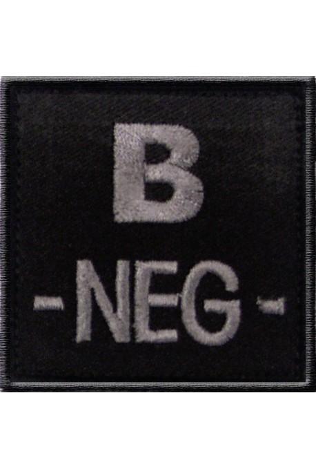 Ecusson groupe sanguin B -