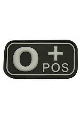 Patch 3D groupe sanguin O+ POS 50 x 26 mm