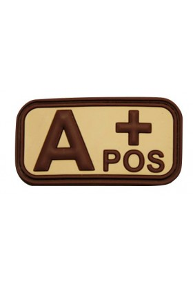 Patch 3D groupe sanguin A+ POS 50 x 26 mm